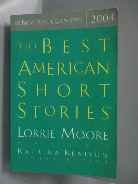 ~書寶 書T4/原文小說_KSD~The Best American Short Stor