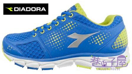 【巷子屋】義大利國寶鞋-DIADORA迪亞多納 男款冰GO涼感寬楦運動輕跑鞋 [2636] 藍 超值價$826