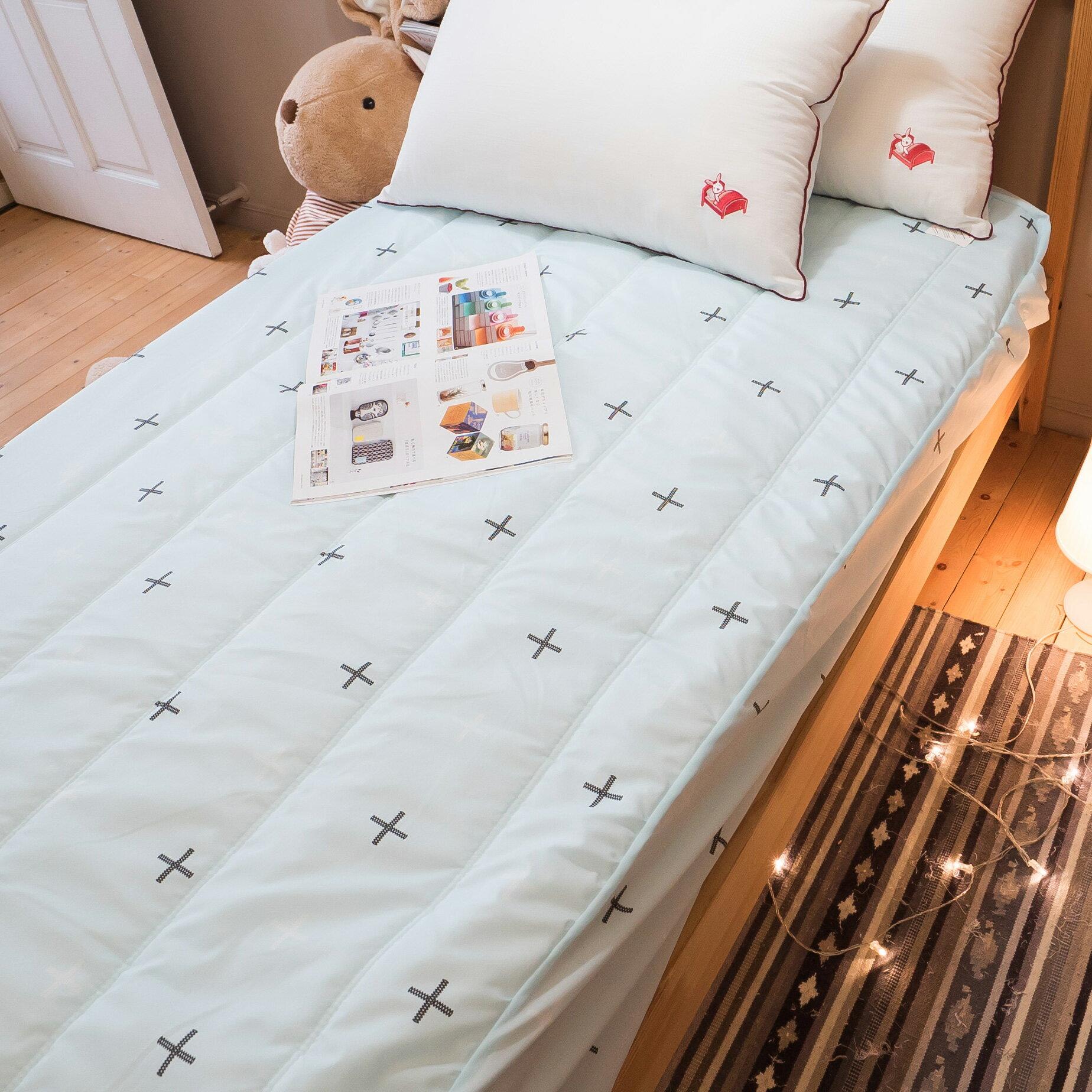 【綠十字】床包式保潔墊(尺寸可選)抗菌防污 台灣製 厚實鋪棉 可水洗 好窩生活節 4