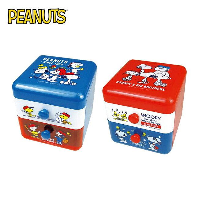 【日本正版】史努比 二抽 塑膠收納盒 抽屜盒 置物盒 桌面收納 Snoopy PEANUTS - 限時優惠好康折扣