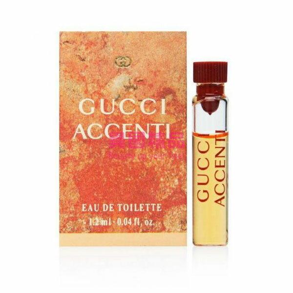 Gucci Accenti 女性針管香水 1.2ml EDT SAMPLE VIAL【特價】§異國精品§