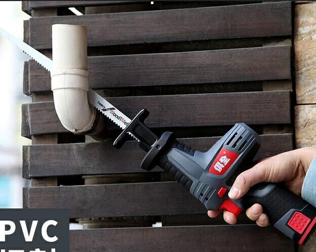 充電鋸 俱全12V鋰電充電式往復鋸馬刀鋸家用小型迷你電鋸戶外手提伐木鋸 父親節禮物 1