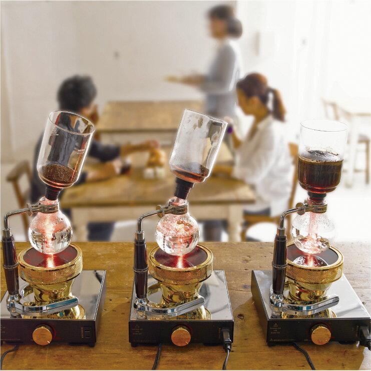 HARIO  經典虹吸式咖啡壺/TCA-3 4