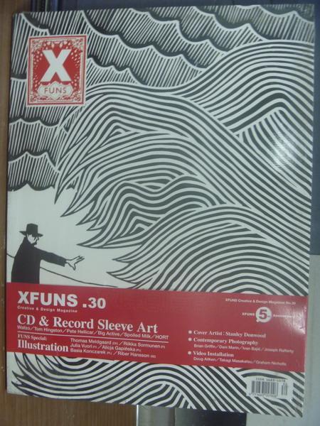【書寶二手書T1/設計_QMA】Xfuns放肆創意設計_第30期_CD & Record Sleeve Art_未拆