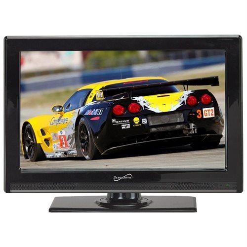 """Supersonic SC-2211 22"""" 1080p LED-LCD TV - 16:9 - HDTV - ATSC - 85 / 80 - 1920 x 1080 - 6 W RMS - LED Backlight - USB 0"""