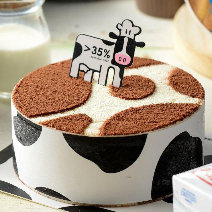 ✿ 牛牛提拉米蘇蛋糕 4  6  8吋  日式乳酪  製作 層次口感 下午茶 甜點 【紅鞋