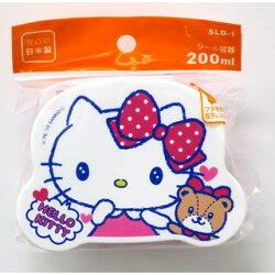 Hello Kitty 熊 粉紅 餐盒/保鮮盒/便當盒 凱蒂貓 KT 日本製 正版授權J00012348