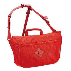 【Coleman 美國】單肩背包 旅行背包 ATLAS 郵差包/復古紅-CM-21731M000