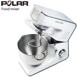 ◤贈晶工9L烤箱 ◢ POLAR 普樂 多功能抬頭式攪拌機PL-2080 ◤一機多用-具有攪拌、混合、揉捏麵糰 ◢