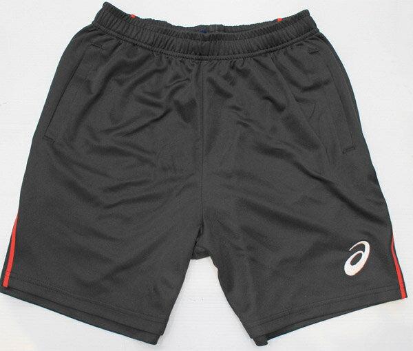 [陽光樂活=]2017 asics 亞瑟士 排球褲 羽球褲 訓練褲 針織短褲 運動褲(K11705-9023)