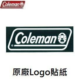 [Coleman]原廠Logo貼紙黑S公司貨CM-10524