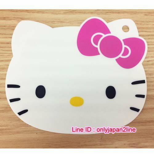 【真愛日本】16110900009造型矽膠隔熱墊-大頭粉  三麗鷗 Hello Kitty 凱蒂貓 鍋墊 杯墊 墊子 防滑 正品