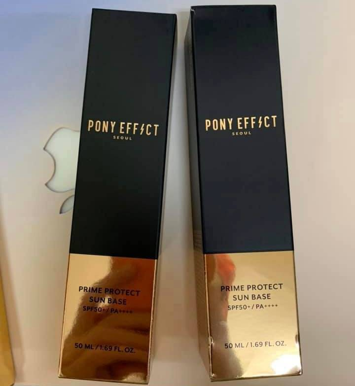 韓國U0001f1f0U0001f1f7PONY EFFECT 水透光妝前防護乳 50ml (夏天必備!)