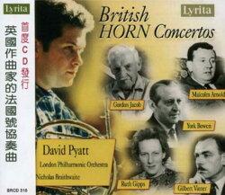 【停看聽音響唱片】【CD】英國作曲家的法國號協奏曲 / 布萊特威特 指揮 倫敦愛樂管弦樂團