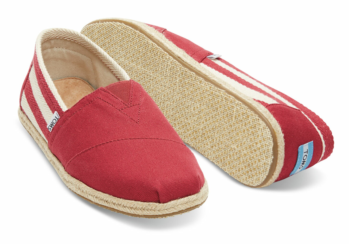 【TOMS】Red Stripe University Men's Classics 3