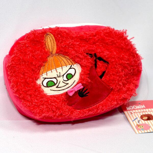 NOBA 不只是禮品:MOOMIN嚕嚕米小不點亞美雙層拉鍊化妝包萬用包日本正版商品