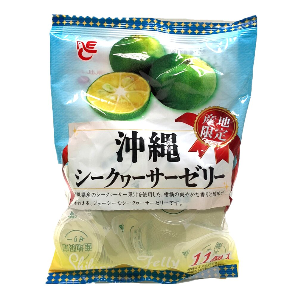 餅之鋪食品暢貨中心 日本-ACE靜岡11入柑橘果凍