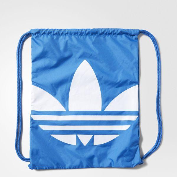 ADIDAS Originals Gymsack Trefoil 背包 束口袋 手提 基本款 藍 【運動世界】AJ8987