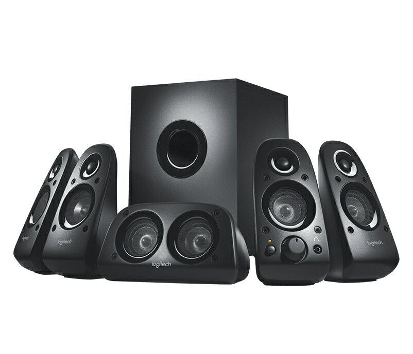 【迪特軍3C】Logitech 羅技 公司貨 環繞聲音箱 Z506 5.1 環繞音效音箱系統 喇叭