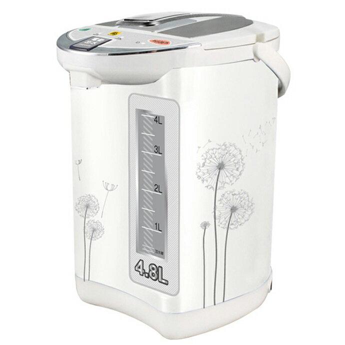 【鍋寶】4.8L節能電動熱水瓶 PT-4808-D