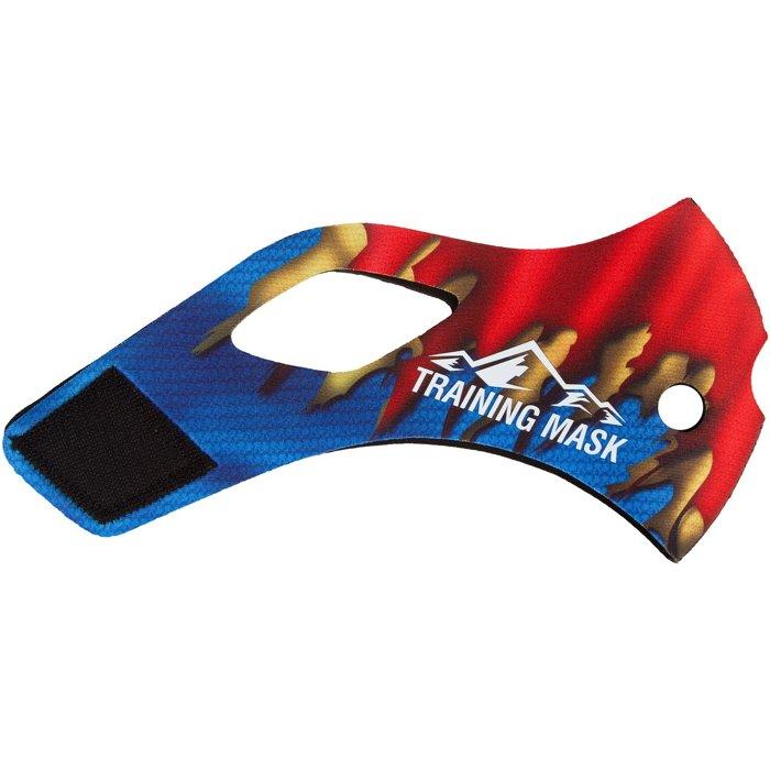 公司貨-我是超人肺活量訓練~MMA訓練高海拔面罩Training Mask面罩皮~超人再起面皮-M size