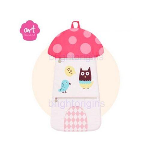 Baby muffin ART Muffin Kids Multi Storage 掛壁式收納袋(蘑菇)★愛兒麗婦幼用品★