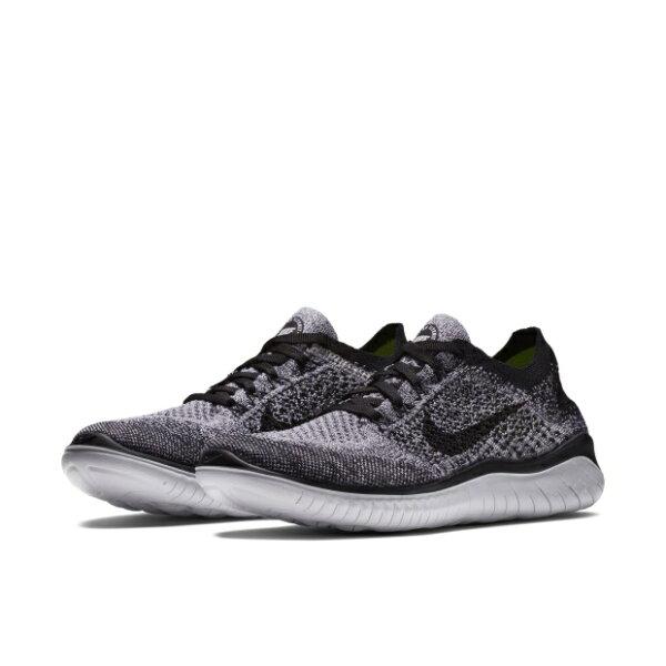 NIKEFREERNFLYKNIT2018女鞋慢跑網布透氣舒適灰黑【運動世界】942839-101