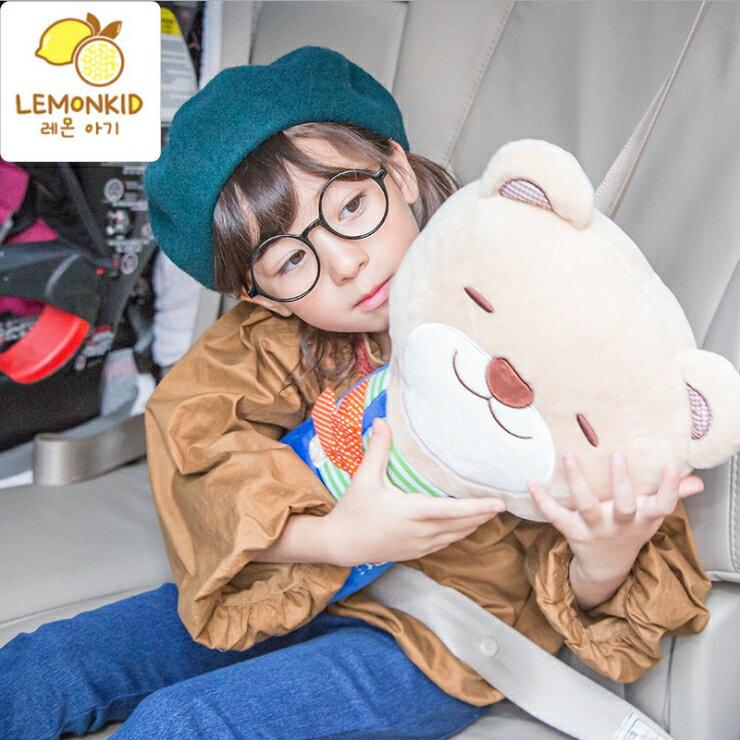 WallFree窩自在★【大抱枕】韓國卡通可愛動物抱枕  小兔  小熊  獅子 狐狸   安全帶抱枕  車用  熱銷好物 3