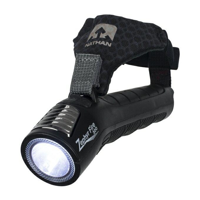 【露營趣】中和 美國 NATHAN 極光手持式防水LED燈 夜間慢跑 夜跑 手電筒 359流明 NA5091NBE