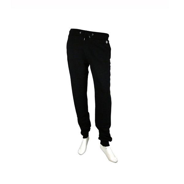 【KENZO】素面束口休閒褲(黑色) 2PA721950 99