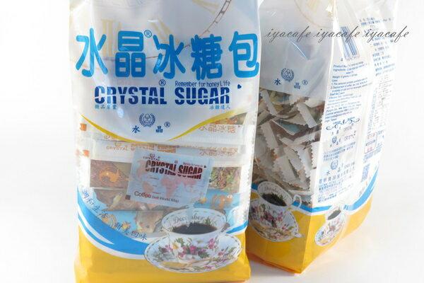 《愛鴨咖啡》水晶冰糖包 棒型冰糖包 糖度99.7 8gx100條
