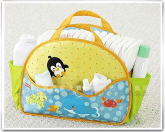 《任意門親子寶庫》外出超方便實用 多功能媽媽包【B037】費雪可愛動物尿布整理袋