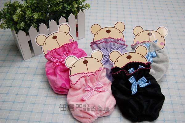 《任意門親子寶庫》媽咪/寶貝蝴蝶結滾邊造型保暖袖套/手套 【BG092】保暖袖套
