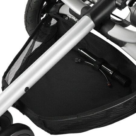 ★衛立兒生活館★Quinny buzz嬰兒手推車-置物網籃(黑色)