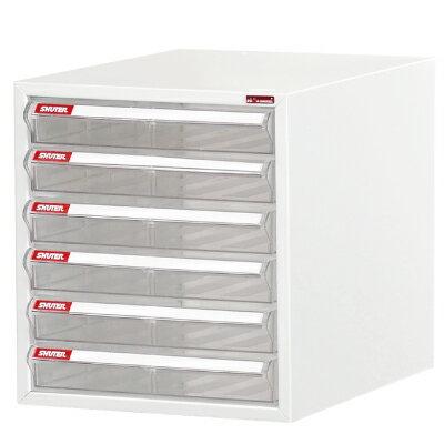樹德SHUTER桌上型文件資料櫃/A4-106P