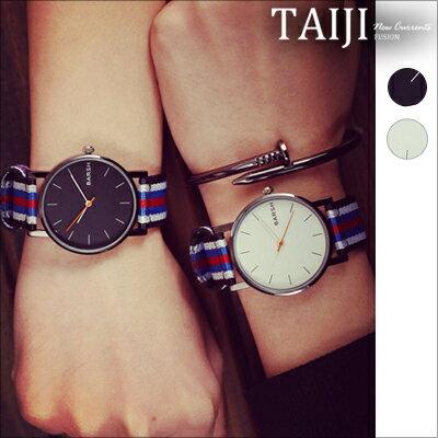 潮流手錶‧BARSH簡約時尚潮流手錶‧二色【NXD052】-TAIJI★
