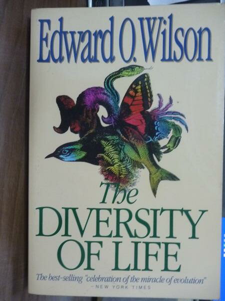 【書寶二手書T7/科學_PFE】The Diversity of Life_Edward O.Wilson