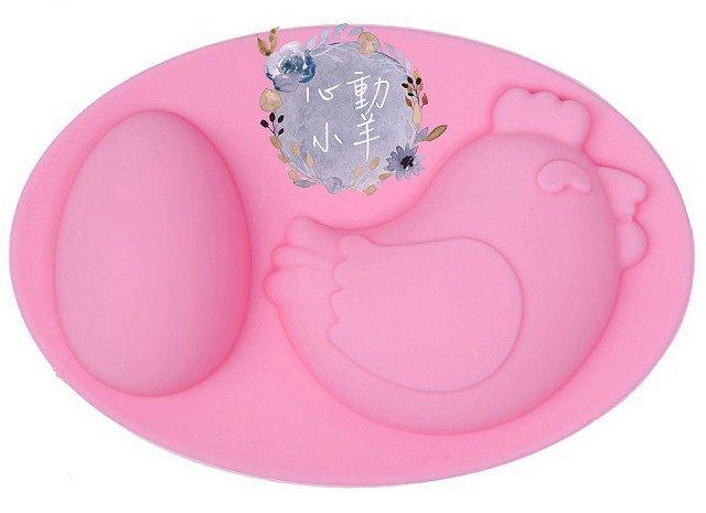 心動小羊^^矽膠模具手工皂模具雞蛋+小雞模具雙孔矽膠蛋糕模具、餅乾模