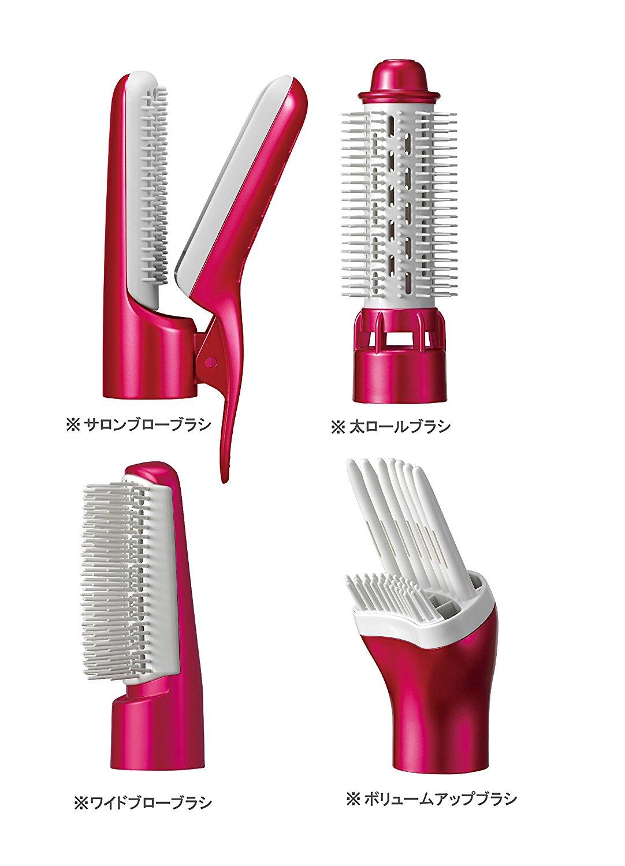 日本公司貨 國際牌 Panasonic  EH-KN99 RP 多功能整髮梳 溫冷交替 刷頭交換 保溼 抑制靜電 整髮器 EH-KN97 新款 kn99 五合一 負離子 奈米  情人節禮物 母親節禮物