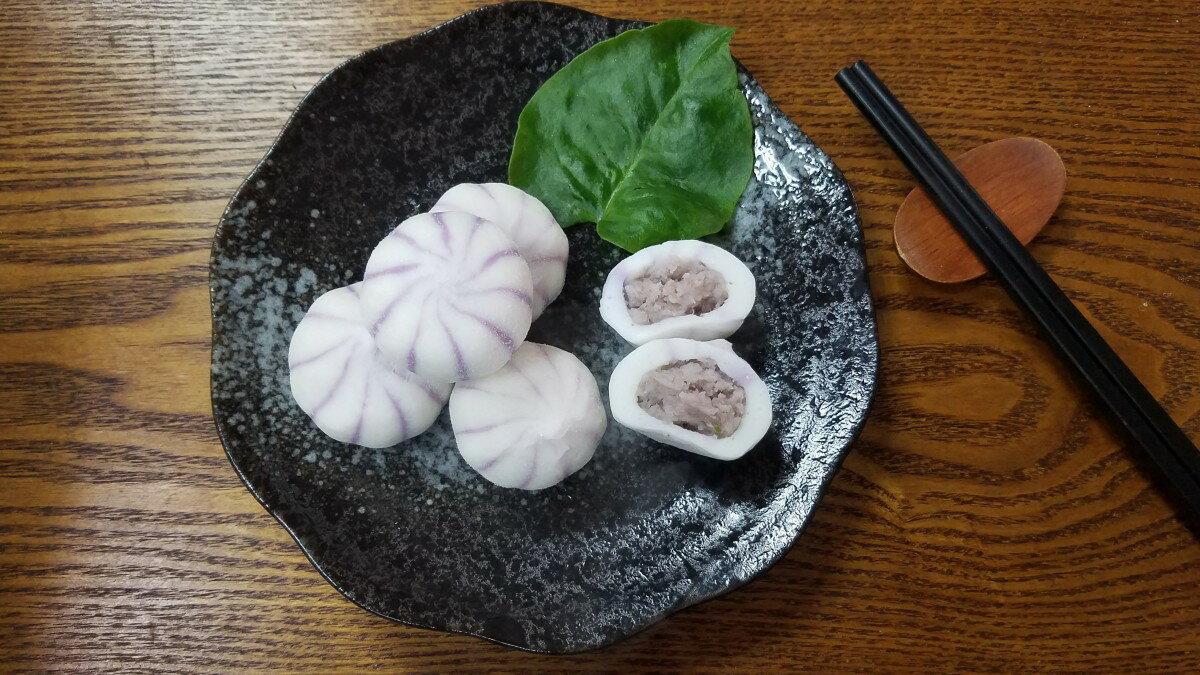 芋泥包-【利津食品行】火鍋料 關東煮 芋泥 包餡 魚丸 冷凍食品