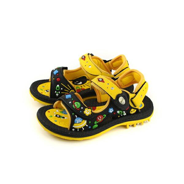 GP(Gold.Pigon)涼鞋防水雨天黃黑中童童鞋G8680B-33no940