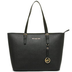 MICHAEL KORS JET SET TRAVEL金字防刮皮革拉鍊肩背包Michael Kors Jet Set Travel Saffiano Leather Top-Zip Tote 30S4GTVT2L