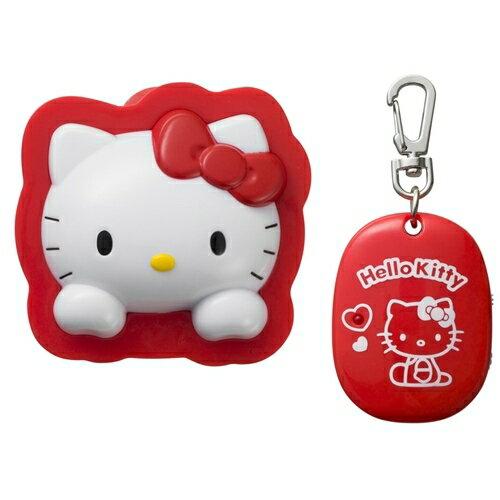 【真愛日本】16012000002  防走失警報器-KT大頭紅 KITTY 凱蒂貓 三麗鷗 聲音監控器 幼兒安全用品