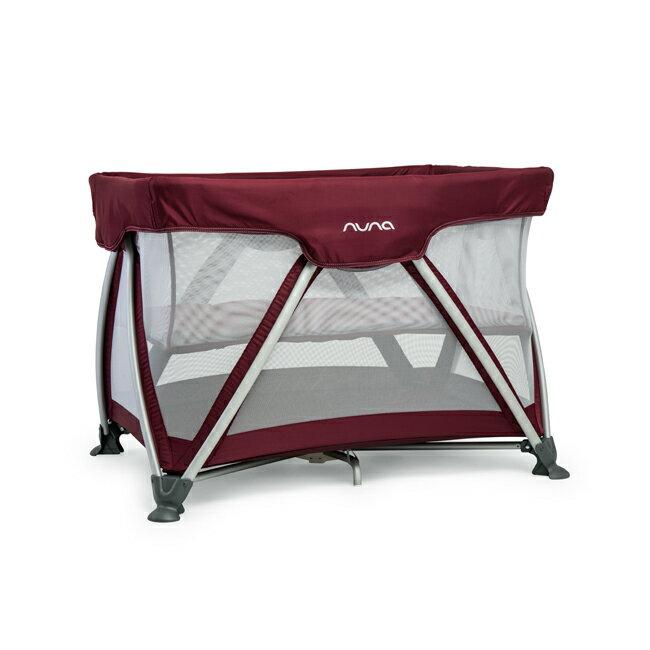 NUNA - Sena遊戲床 (野莓紫) 贈品牌手提袋+可愛玩偶吊飾,加贈費雪學習聲光小鋼琴!