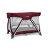 NUNA - Sena遊戲床 (野莓紫) 贈品牌手提袋+可愛玩偶吊飾,加贈費雪學習聲光小鋼琴! - 限時優惠好康折扣
