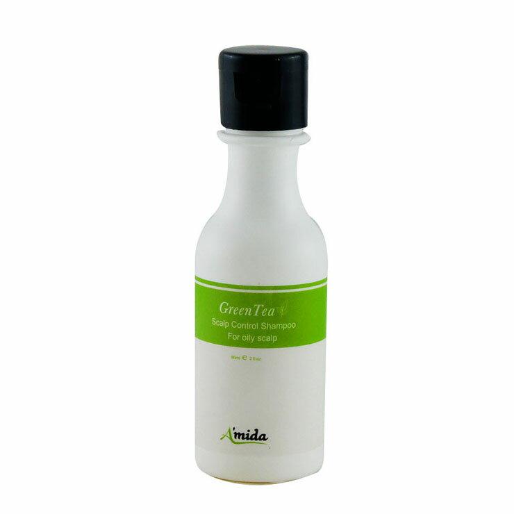 AMIDA綠茶控油洗髮精60ML