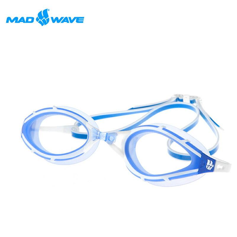 俄羅斯MADWAVE成人泳鏡 UV BLOCKER - 限時優惠好康折扣