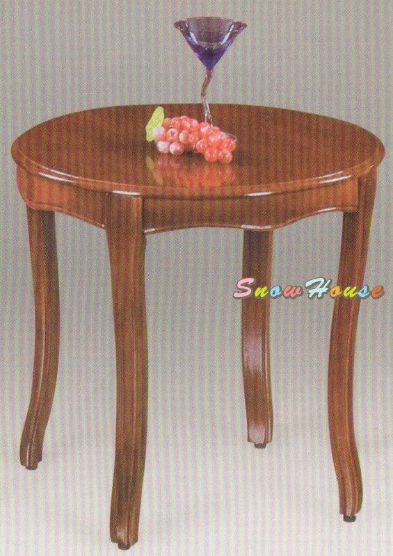 ╭☆雪之屋居家生活館☆╯A290-05 208古典雅緻實木腳咖啡紅圓桌茶桌茶几休閒桌/餐桌咖啡桌