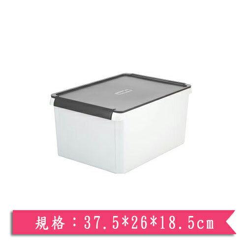 樹德SHUTER 小屋子-深灰(37.5*26*18.5cm)【愛買】