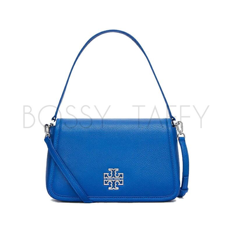 TORYBURCH海藍手提包